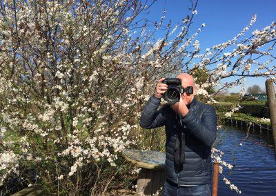 Wilfried Overwater fotoshoot Boskoop